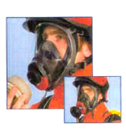 SELF CONTAINED POSITIVE PRESSURE BREATHING APPARATUS